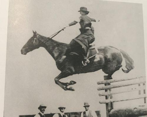 Side saddle world record