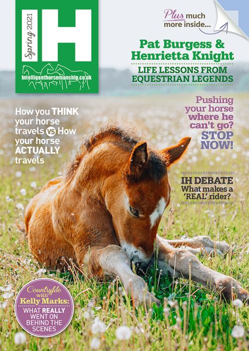 intelligent horsemanship spring 2021 magazine cover