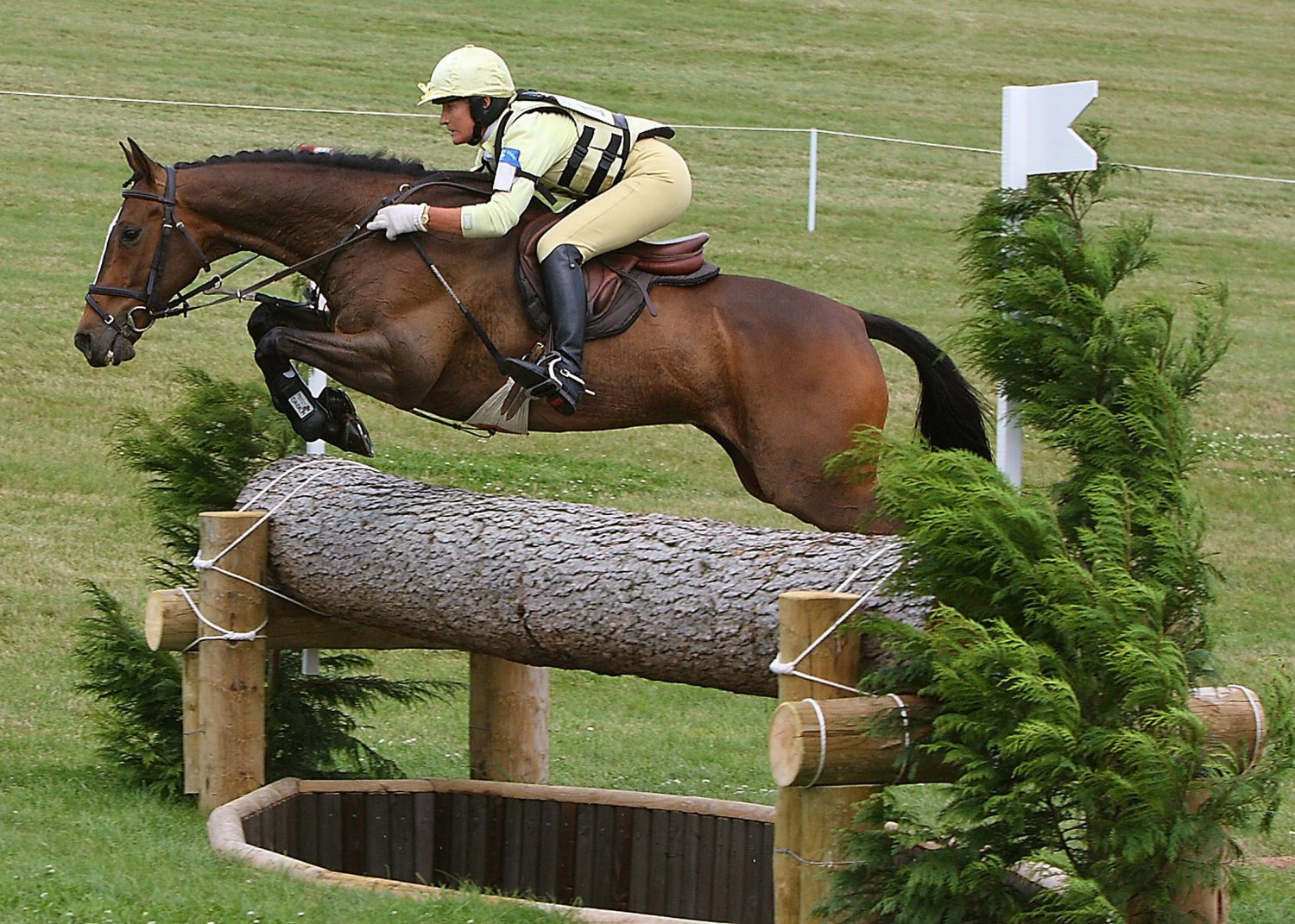 event rider lucinda green riding cross country
